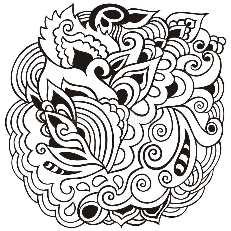 Illustratie van ramadan kareem met het ingewikkelde Arabische patroon van Paisley voor de viering van moslim communautair, kleure stock illustratie