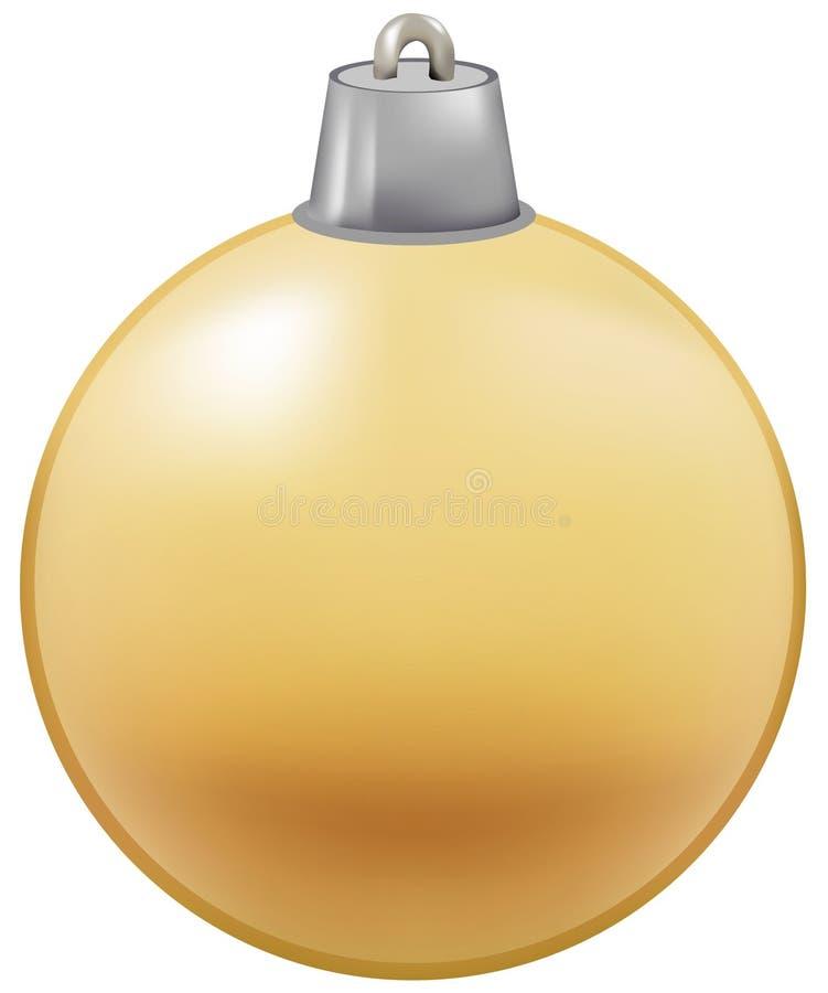 Illustratie van snuisterij voor Kerstboomdecoratie stock illustratie