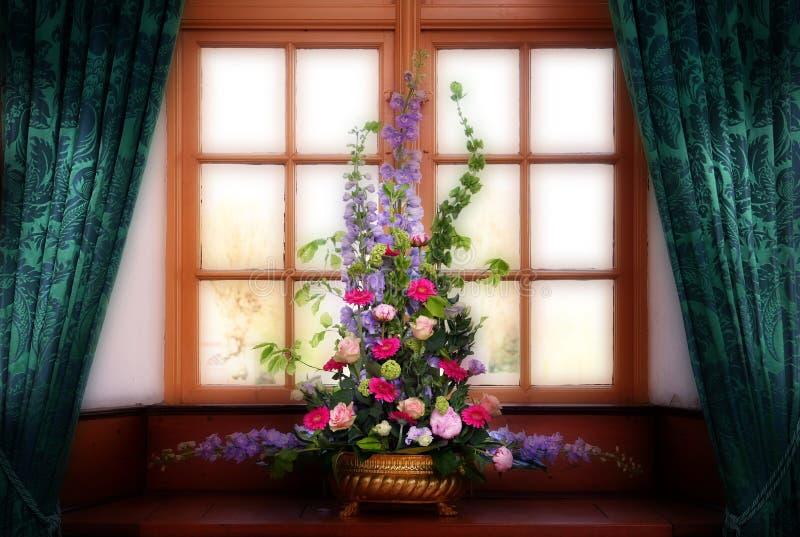 Illustratie van venster royalty-vrije stock afbeelding