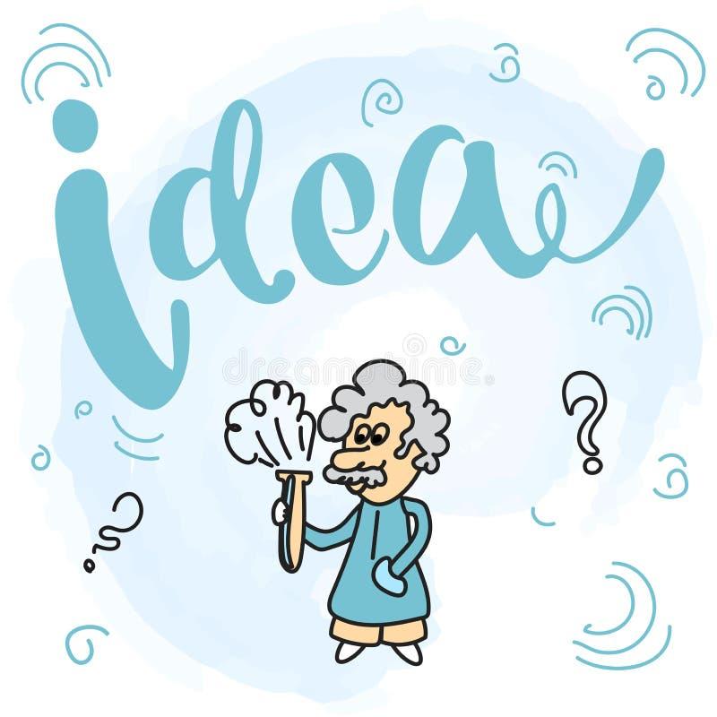 Illustratie van vlak ontwerp voor zaken, Financiën, het raadplegen, beheer, analyse, strategie en planning Vectorillustraties F royalty-vrije illustratie