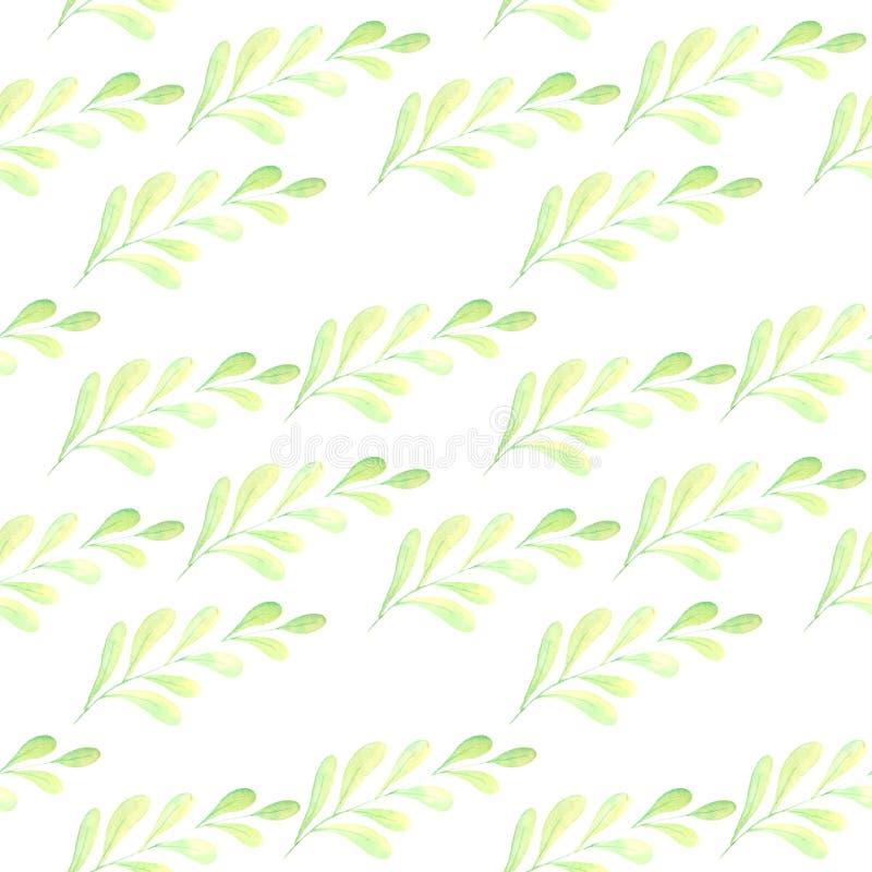 Illustratie van waterverfpatroon stock illustratie