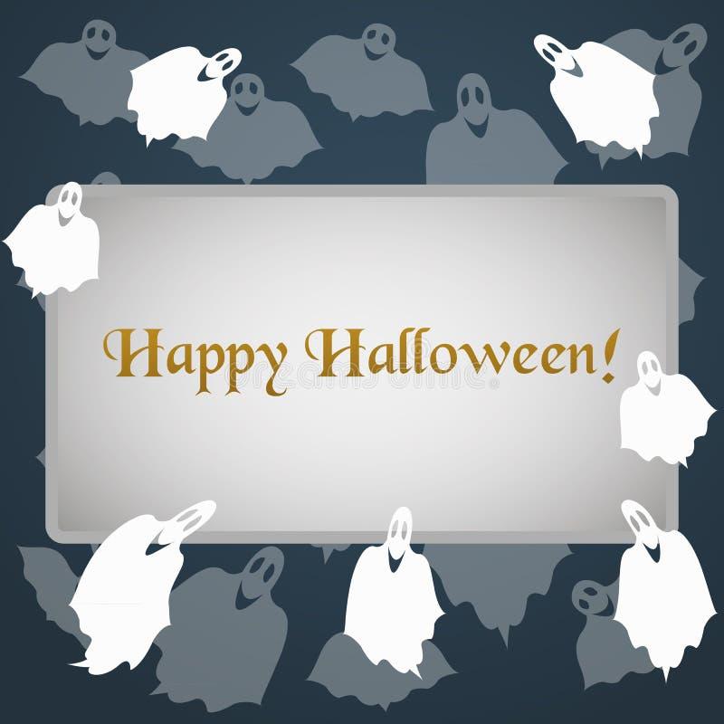 Illustratie voor de viering van Halloween vector illustratie