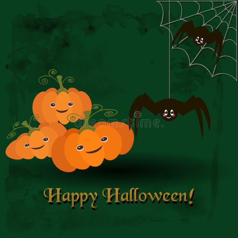 Illustratie voor de viering van Halloween stock illustratie