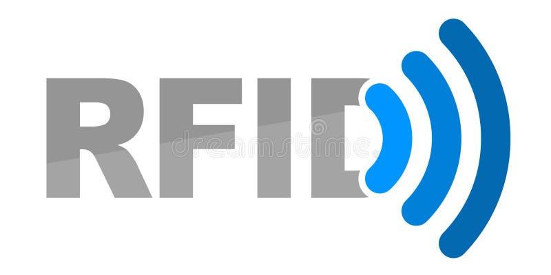Illustratie voor RFID-Technologie royalty-vrije illustratie