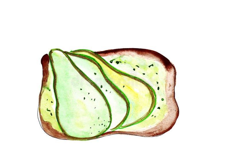 Illustratiereeks van het schetsen van sandwiches met verscheidenheid van vullingen, verschillende samenstelling en ingrediënten vector illustratie