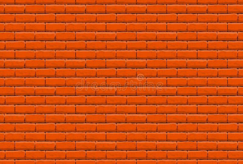 Illustratio bonito do projeto do papel de parede da bandeira da textura da parede de tijolo imagens de stock royalty free