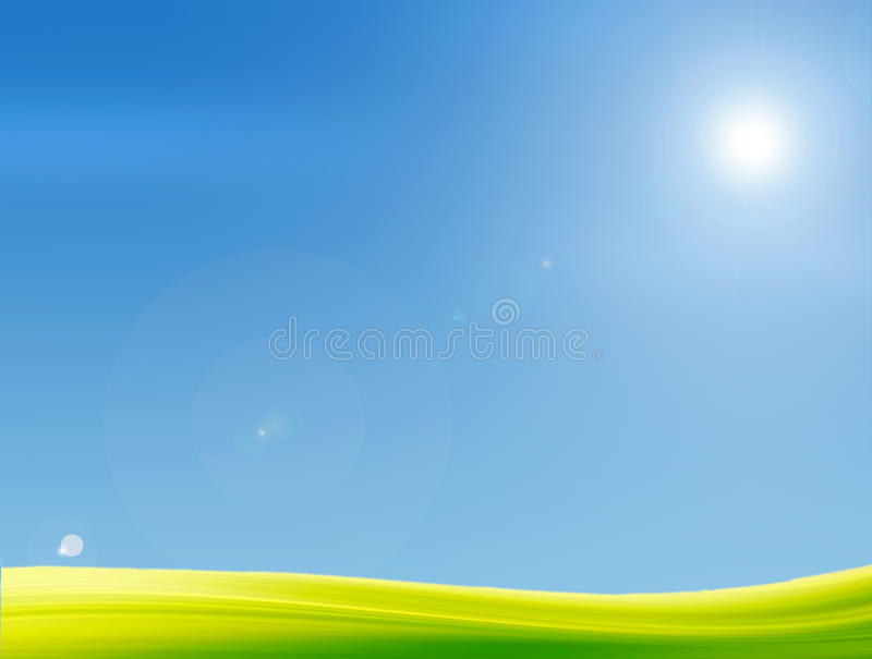 Download Illustration stock illustration. Image of meadow, natural - 14855427
