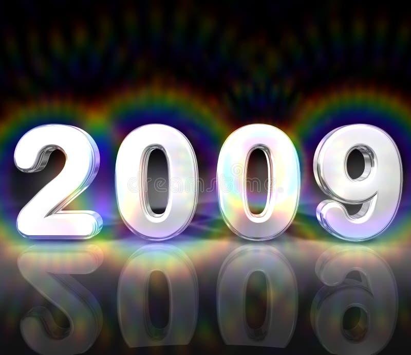 Illustration 2009 d'an illustration stock