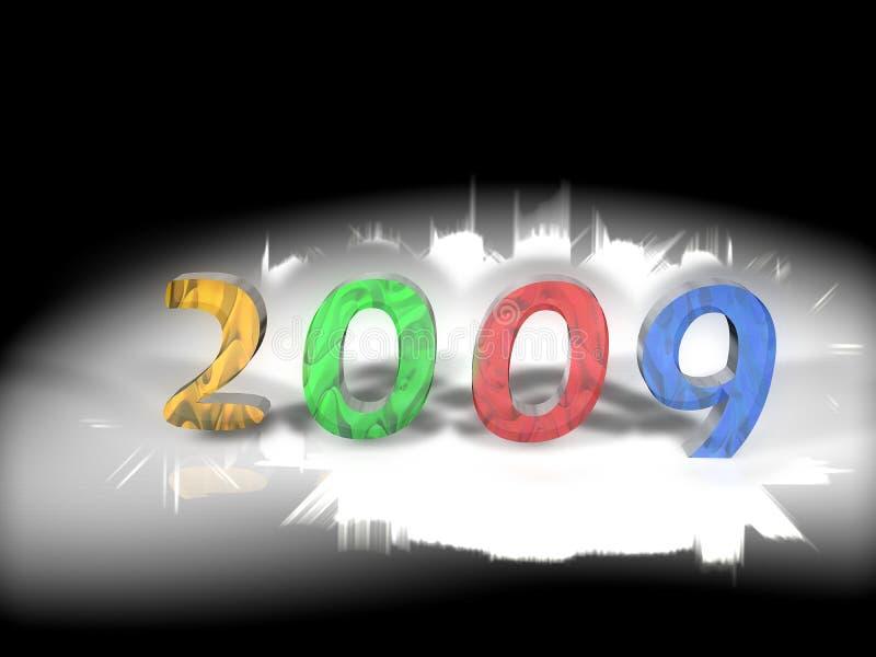 Illustration 2009 d'an illustration libre de droits