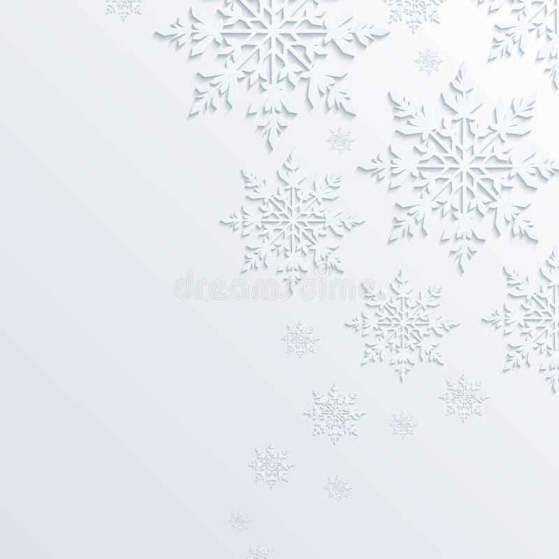 Illustration abstract snowflake background. Abstract illustration with snowflake background vector illustration