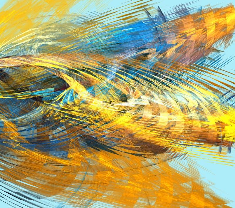 Illustration abstraite colorée illustration libre de droits