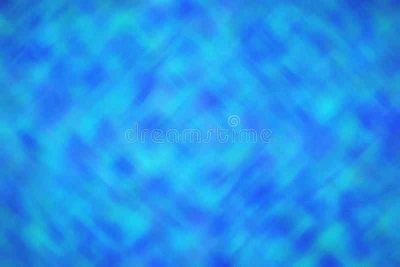 Illustration abstraite de fond en verre minuscule traversant lumineux bleu d'embusqué, digitalement produite images libres de droits
