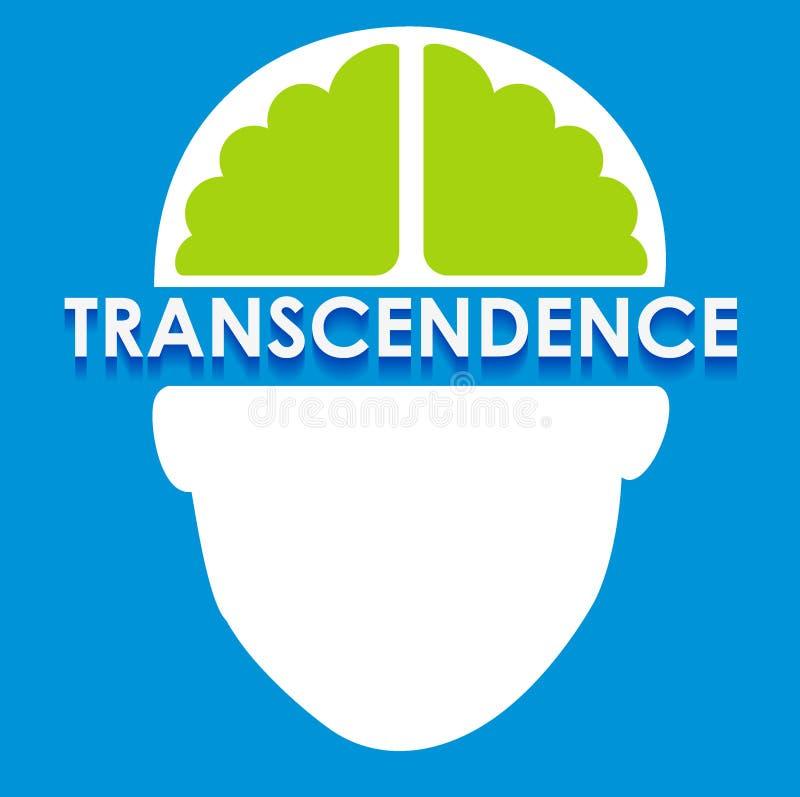 Illustration abstraite de transcendance images stock