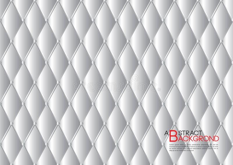 Illustration abstraite grise de vecteur de fond, disposition de calibre de couverture, insecte d'affaires, luxe en cuir de textur illustration libre de droits