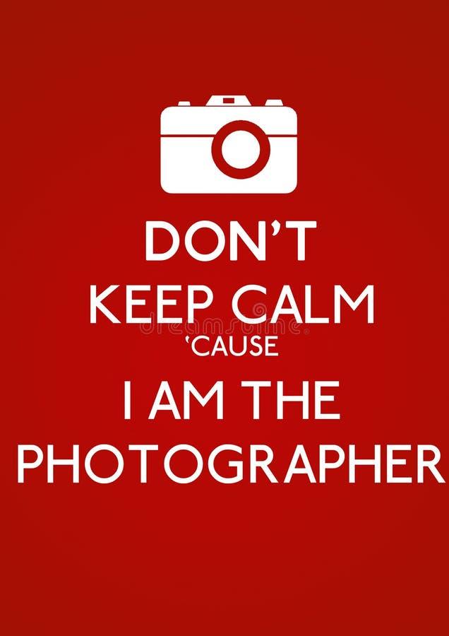 Halten Sie Nicht Ruhe Stockfoto