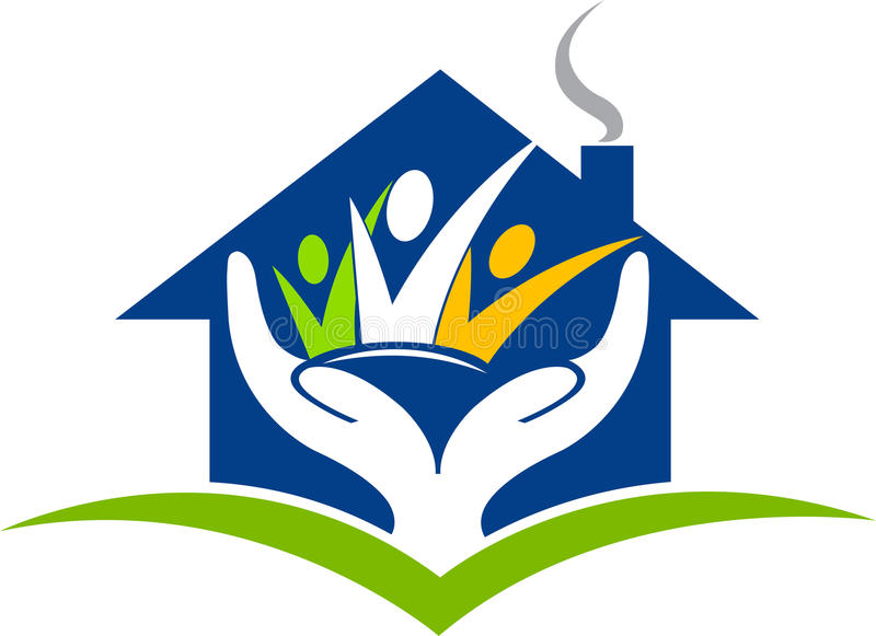 home trust logo vector illustration