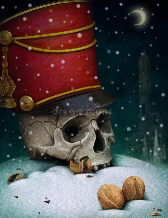 Illustration au conte de fées le casse-noix illustration stock