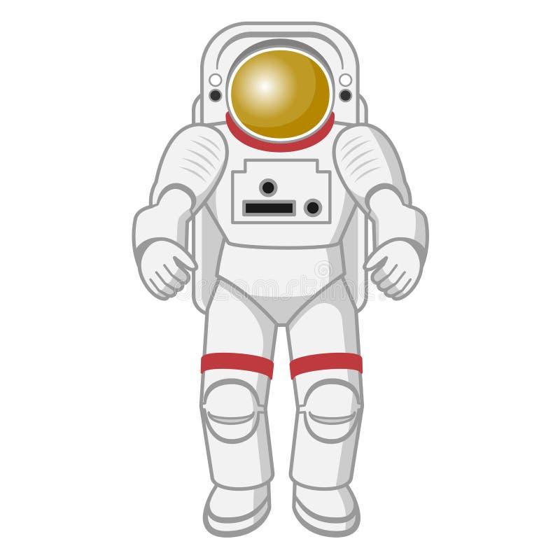 Illustration av astronautet royaltyfri illustrationer