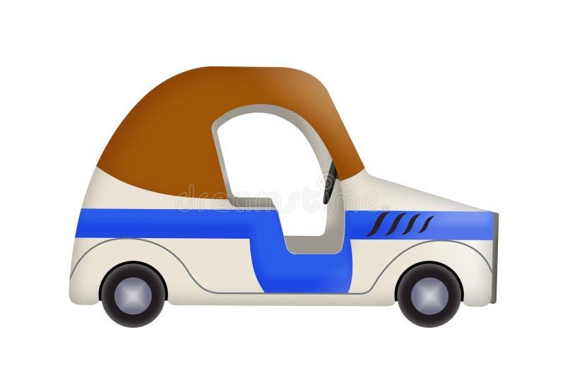 Illustration av bilen royaltyfri fotografi