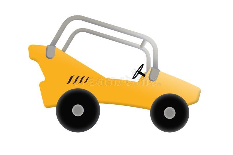 Illustration av bilen royaltyfria bilder