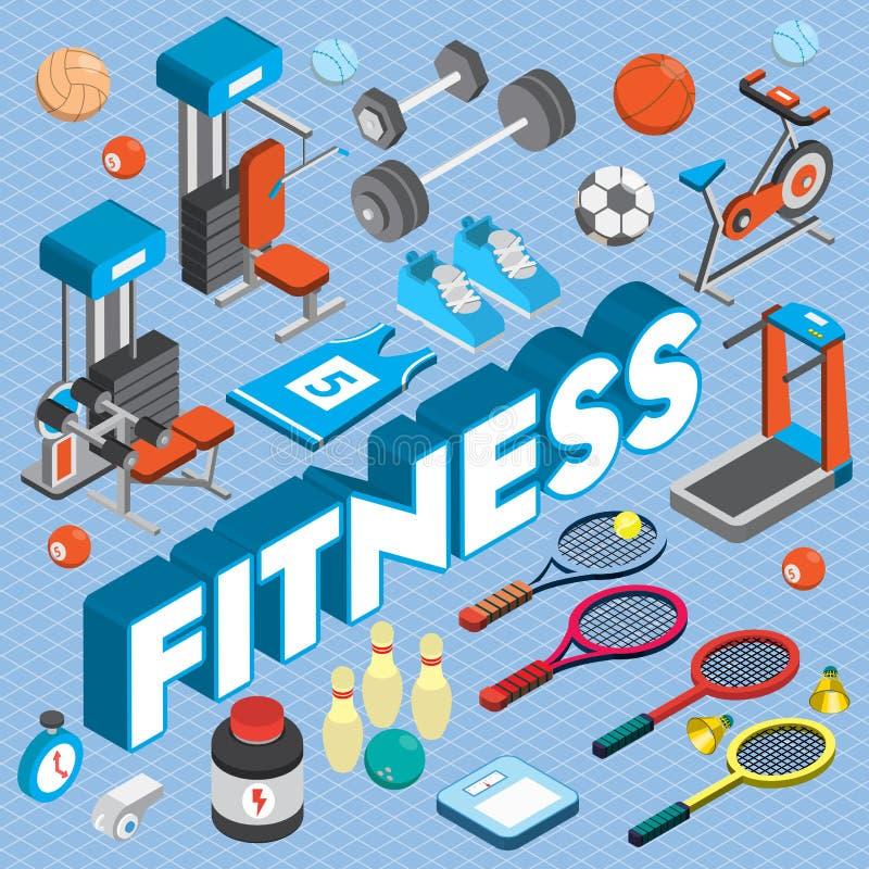 Illustration av det grafiska sportbegreppet för information royaltyfri illustrationer