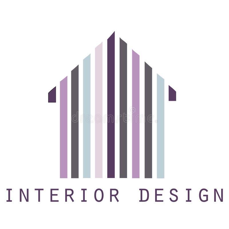 Illustration av huset, logo, vektor vektor illustrationer