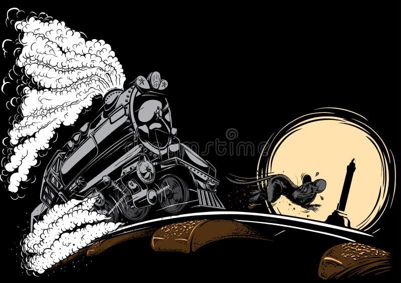 Illustration av semarang Indonesien det kulinariska mellanmålet royaltyfria bilder
