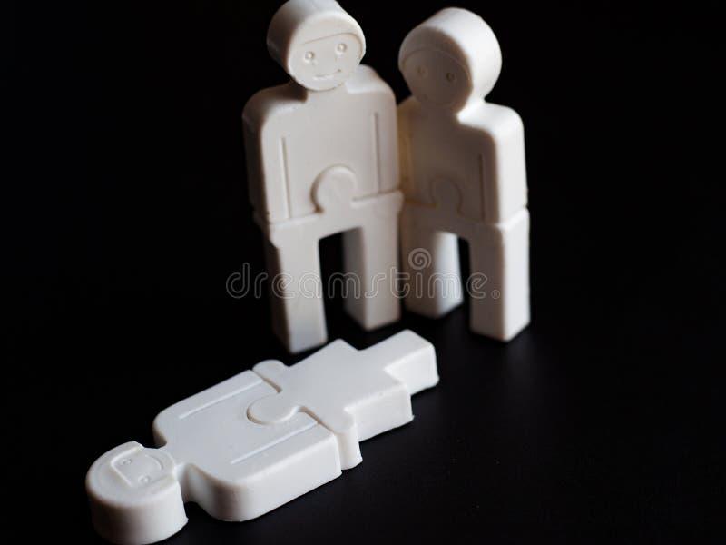 Illustration av service, beklagande, sympati för stupad eller död begreppet det älskling, sinnesrörelser av folk från plast- fotografering för bildbyråer