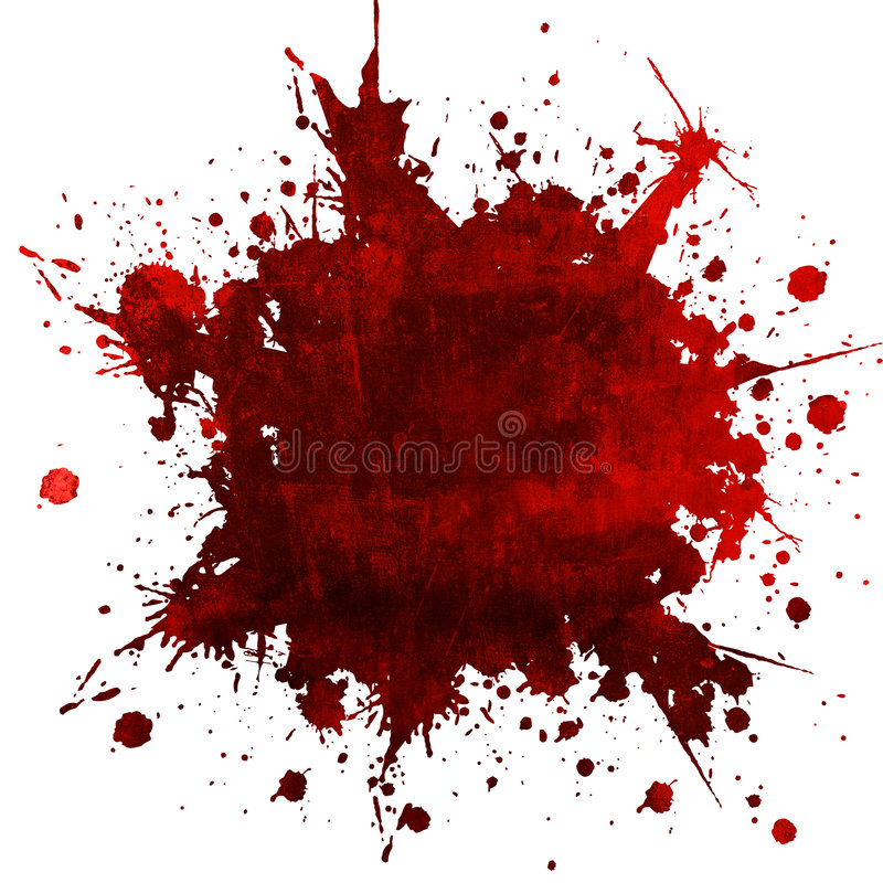Illustration, background. A grungy background shows blood spots...danger..dreadfull stock illustration