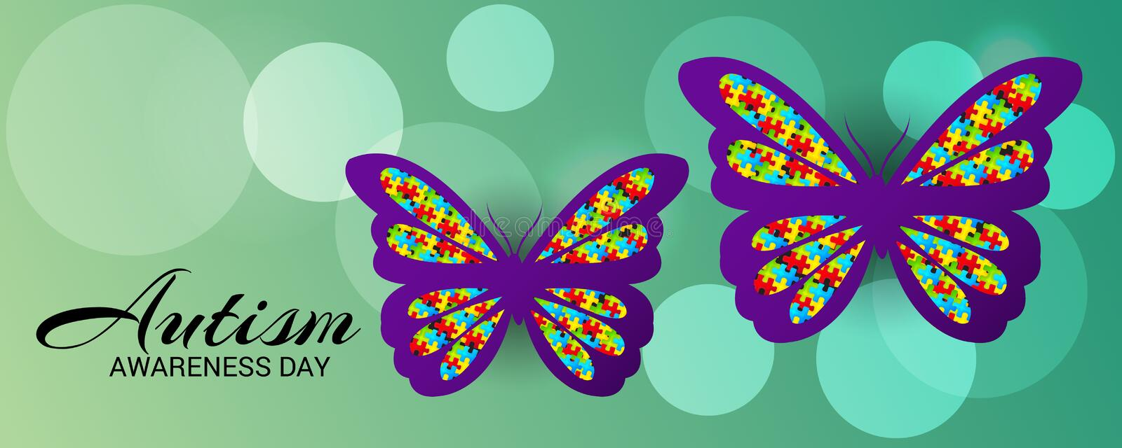 Autism Awareness Day. vector illustration