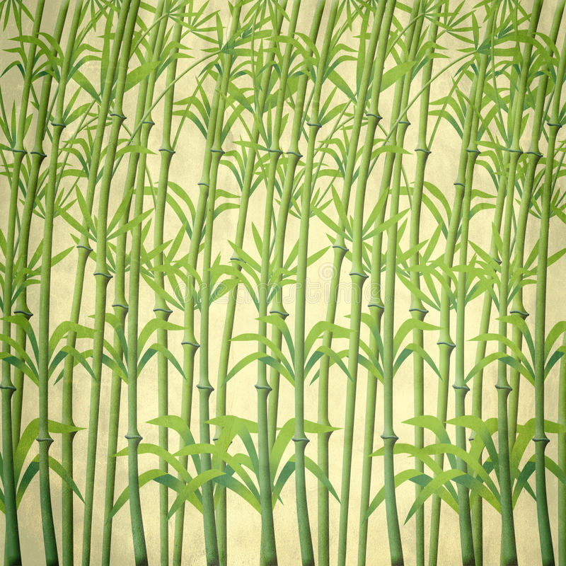 Download Illustration Of Bamboo Branches Stock Image - Image: 22119241