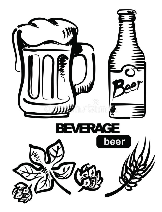 Download Illustration Of Beer Stock Photo - Image: 28897170