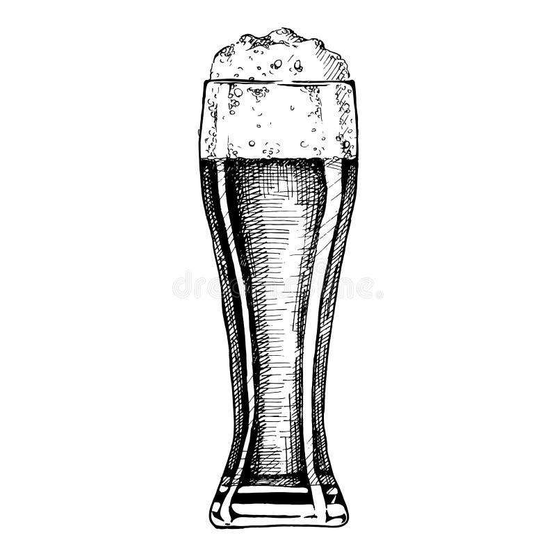 Illustration of Beer stock illustration