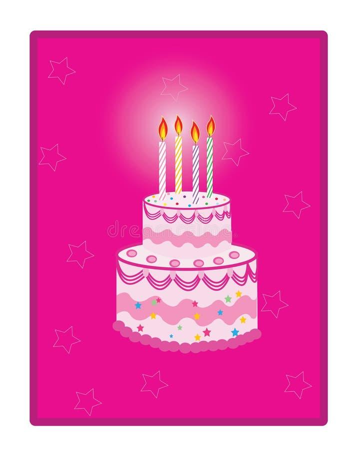 Download Birthday cake stock vector. Image of cupcake, celebration - 29745880