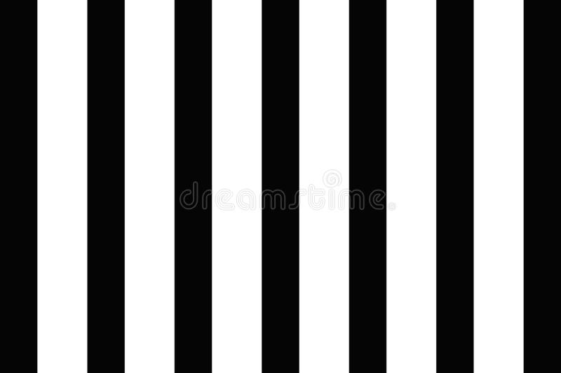 Illustration of black and white stripes, used for backgrounds. -EPS-10.Vector Illustration royalty free illustration