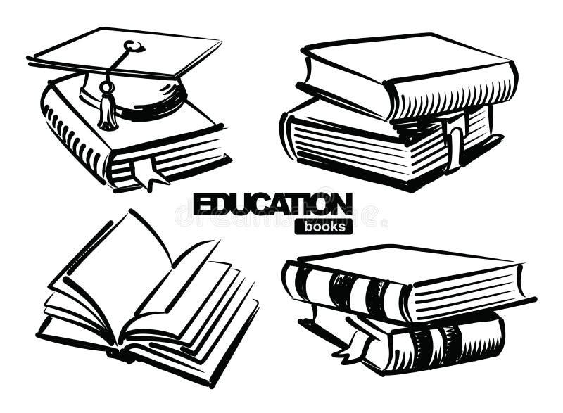 Download Illustration of books stock vector. Illustration of basic - 28897192