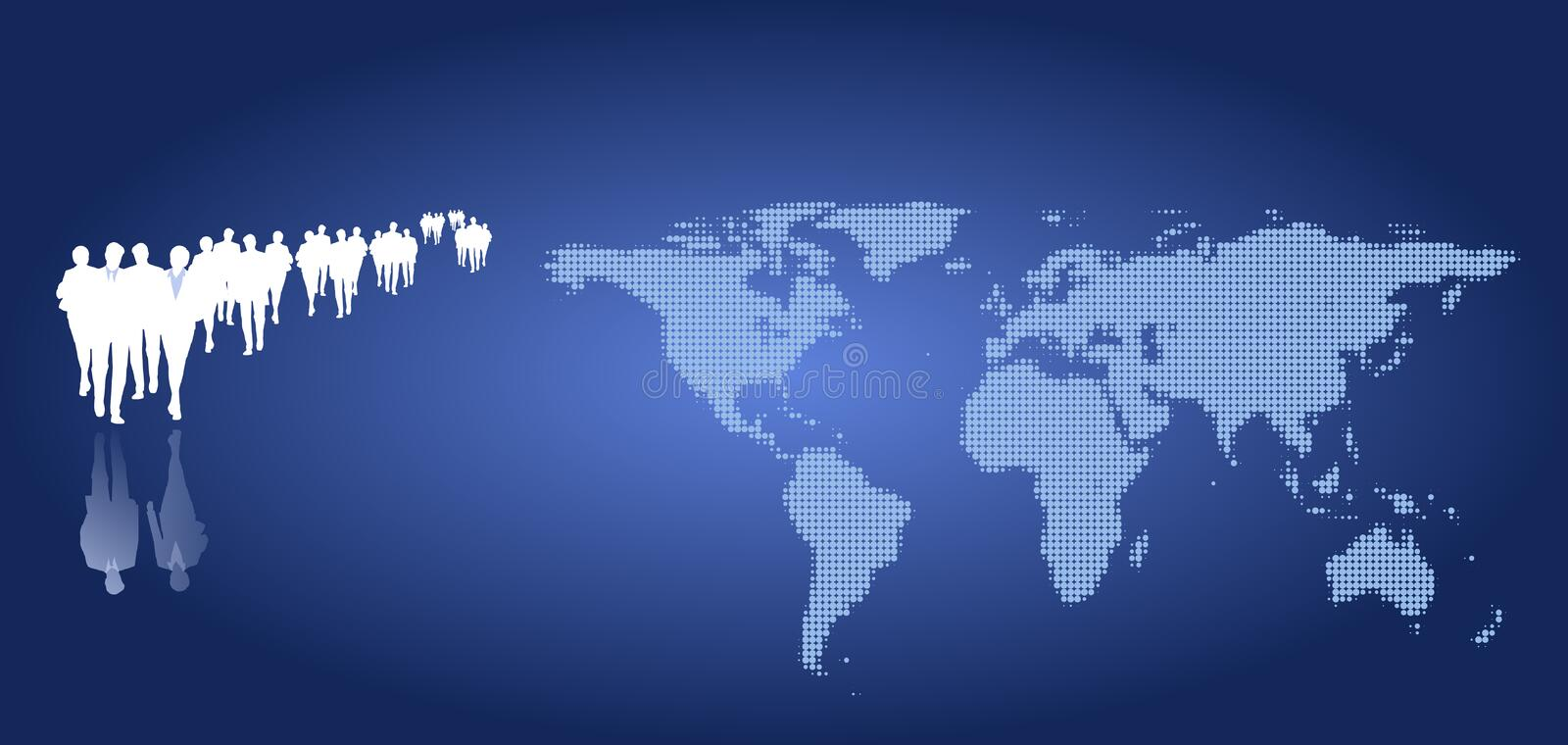Download Illustration Of A Business Team Stock Images - Image: 16505764