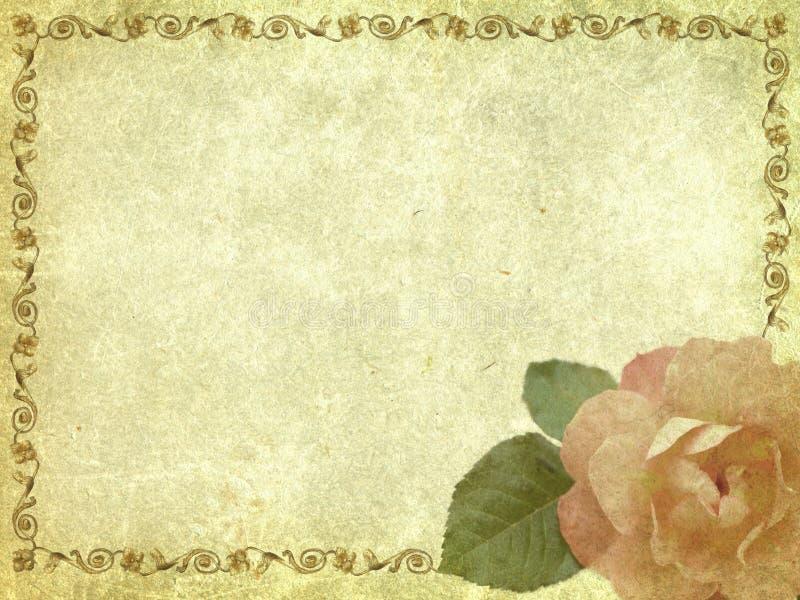 Illustration-carte photographie stock libre de droits