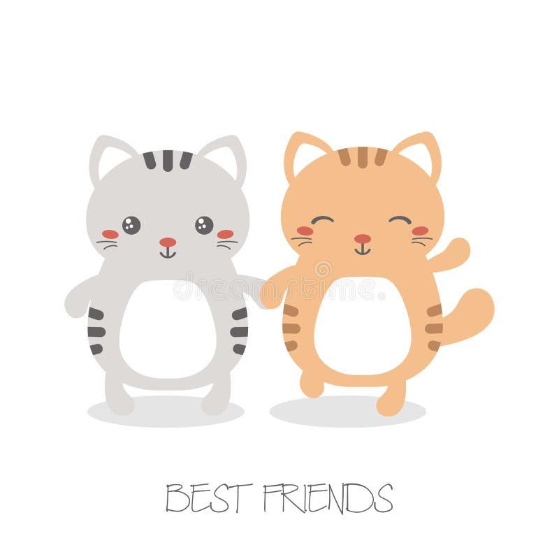Best Friend Forever Stock Vector Illustration Of Couple 107715609