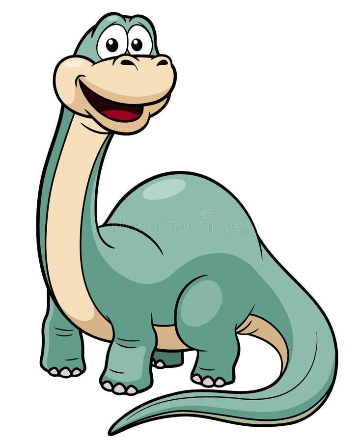 Download Cartoon dinosaur stock vector. Image of funny, enormous - 29888463