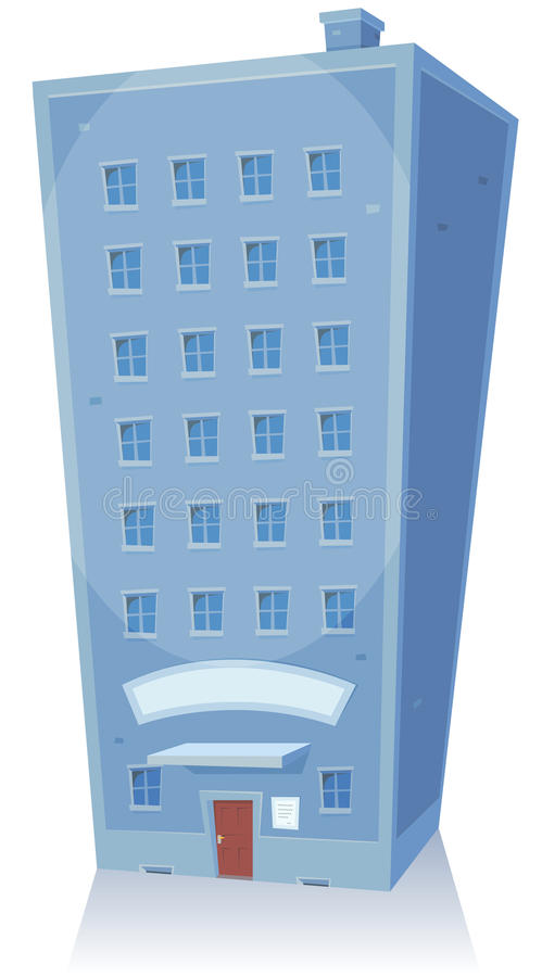 Cartoon Building vector illustration