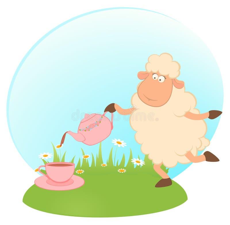 Download Illustration Of Cartoon Sheep Stock Vector - Illustration: 16429263