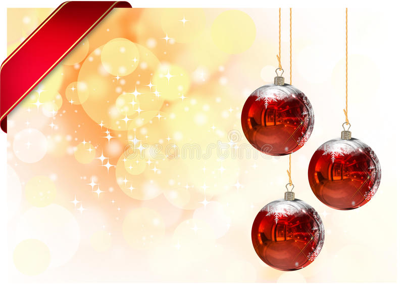 illustration of Christmas Card vector illustration