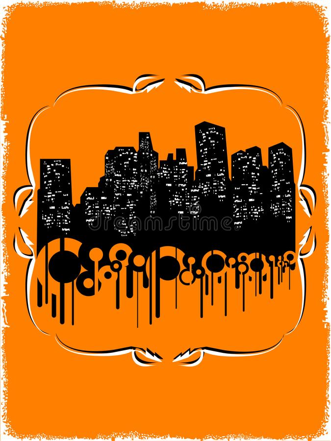 Download Illustration of city stock vector. Illustration of drawing - 4731959
