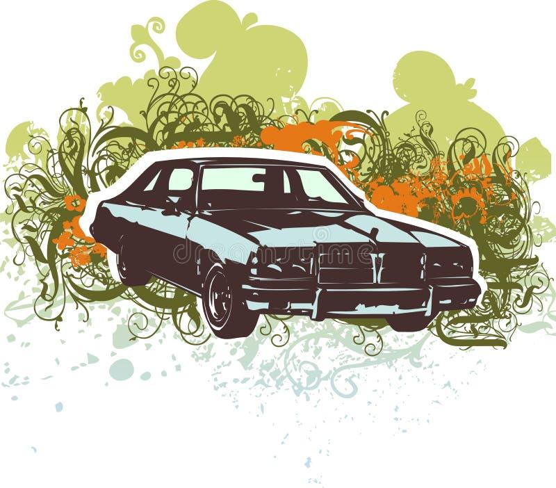 Illustration classique de véhicule illustration libre de droits