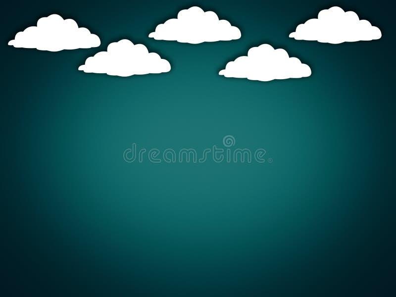 Cloud based Internet stock illustration
