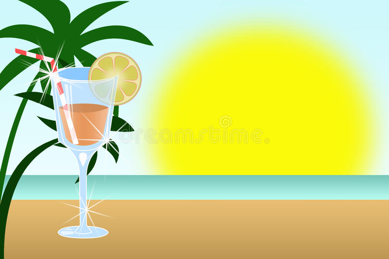 Download Illustration Of Cocktail Is In Glass Stock Photos - Image: 12062243