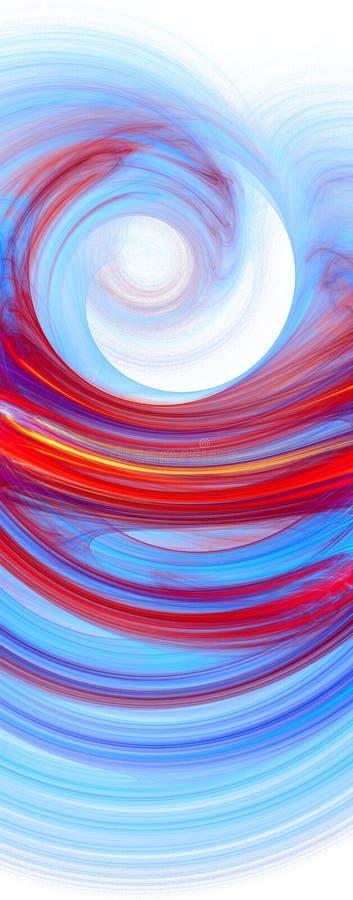 Illustration colorée abstraite illustration libre de droits