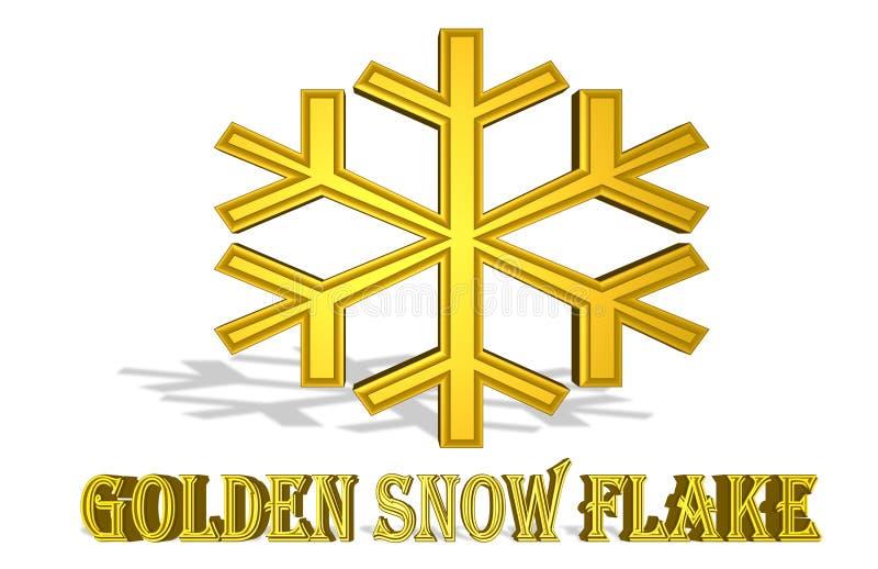 Illustration colorée d'un ` de flocon de neige de ` qui va éclater illustration de vecteur