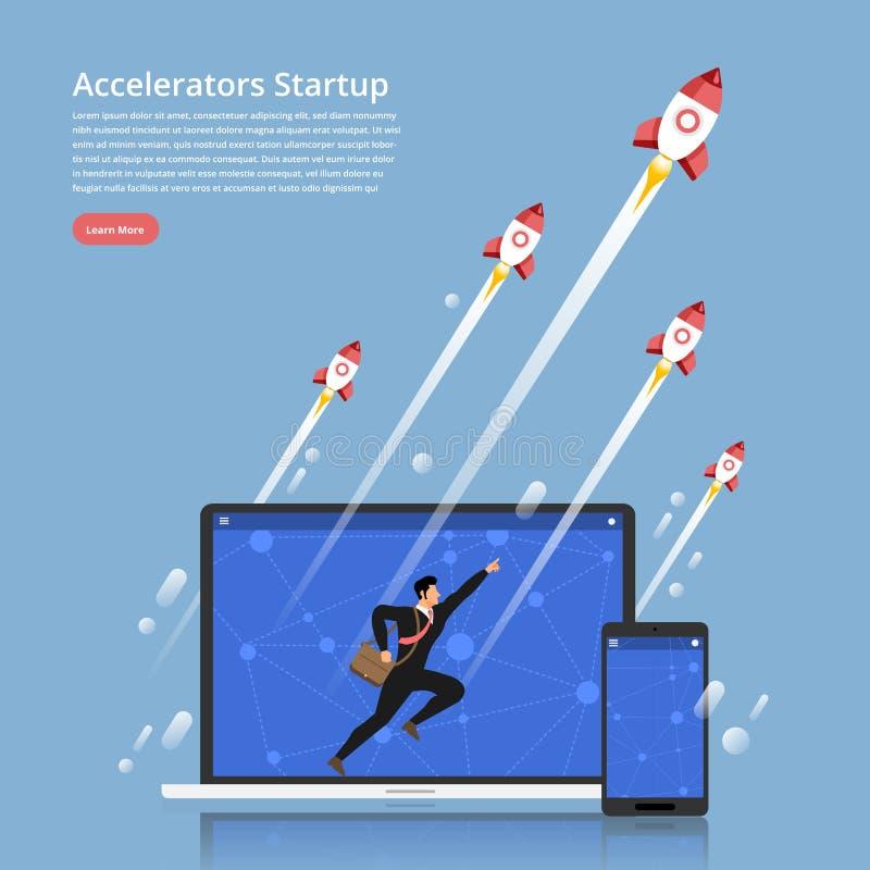 startup brand royalty free illustration